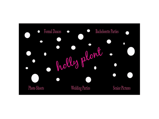 Holly Plont Business Card